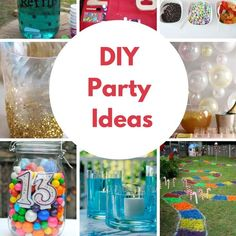 Why spend hundreds when you can party at home. I've got some great DIY birthday party ideas to share with you and you will be so inspired to throw a bash!