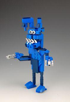 how to build lego bonnie