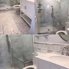 Another happy customer!  #architect #builders #bathdesign #clinestone #clinemarble #construction #decorator #designers #elegant #floortile #glassthassos #greatnecktile #homedecor #hamptonsbath #basketweave #carrara #interiordesign #longislandtile #longislandbathroom #marble #mosaictile #mistygreygrout  #newhydeparktile #nycinteriordesign #sharp #stevencline #tilewarehouse #westocktile #whitemarble  #wemakeitaffordable