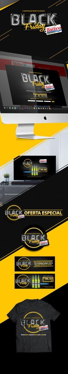Campanha desenvolvida para o Supermercado Tatico localizado em Goiânia - GO.