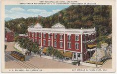 Rockafellow Hotel and Baths, Hot Springs National Park, Arkansas