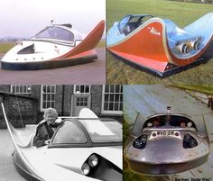 """This is the """"Whomobile"""", yes that's a thing - because anything 1960's Batman could do, the third Doctor did better. It's real name was actually """"The Doctor's car"""" or """"Alien"""", because """"Whomobile"""" is a pun on the title of the show. Commissioned by Jon Pertwee """"The Whomobile"""" was built by the Doctor and was a hovercraft that could fly!!! It was used in the episode """"Invasion of the Dinosaurs"""" and """"Planet of the Spiders""""."""