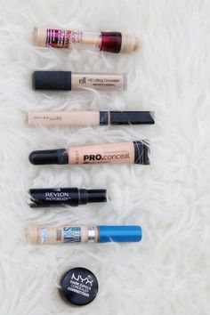 Makeup Brushes Start Makers 10 Pieces Marble Make Up Brushes Set , Powder Blush Foundation Eye shadow Eyebrow Brushes - Cute Makeup Guide Beste Concealer, Best Drugstore Concealer, Drugstore Beauty, Best Under Eye Concealer, Lipstick Dupes, Cheap Makeup, Cute Makeup, Gorgeous Makeup, Makeup Collection