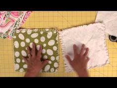 How to make a rag quilt (easy beginner's guide) ♥ Fleece Fun