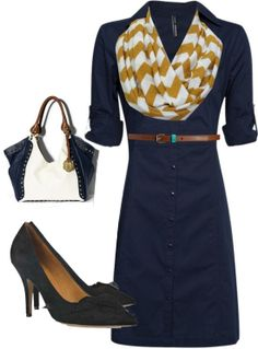 Work casual ❤ Isabel Marant  Get yourself some navy this spring! You won't regret it!