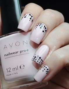 Avon Pro Wear Pastel Pink nails