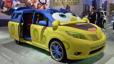The car form the Spongebob moive