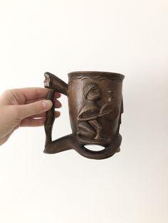 African Hand-Crafted Tribal Mug