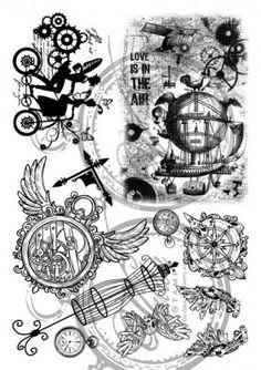 Vilda Stamps - Steampunk