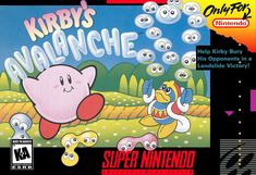 Today In Gaming History  Today our time machine stops in the middle of an avalanche, Kirby's Avalanche! Released in USA and Canada on  February 1, 1995 for the Super Nintendo. Players maneuver pairs of blobs that fall from the top of the play-field in Tetris-inspired game-play. In the fast-paced puzzle game players control Kirby and face off against friends and foes from the Kirby series, including King Dedede. The rules are simple, but the game is addicting and fun. Stack enough matching…