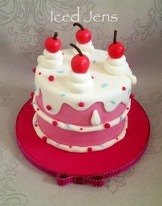 Cake!! Cake by IcedJens
