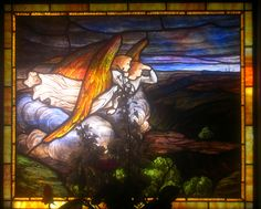 Angel stained glass by Piemouth, via Flickr