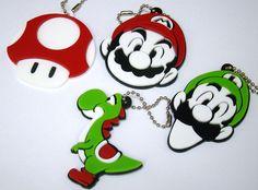 Chaveiros Perosnalizados Turma Super Marios Bros
