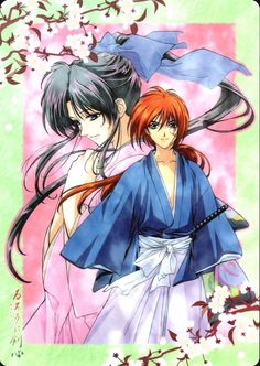 Rurouni Kenshin..forgive me I hardly ever spell it right lol:)