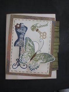 Steampunk Card made at Gen Con 2011
