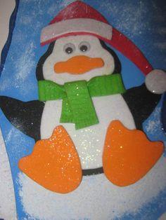 decoracion navideña con pinguinos - Buscar con Google