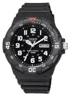 Casio Mens Sport Analog Dive Watch