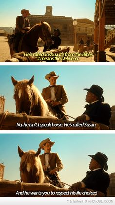 I Think The Doctor Is Just Horsing Around...