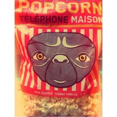 French E.T. Phone Home Popcorn