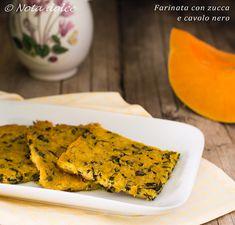 Farinata+con+zucca+e+cavolo+nero+ricetta+facile