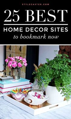 For the BEST apartment decorating ideas check out these home decor sites, stat!