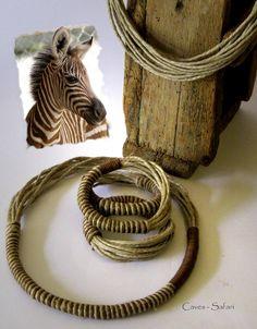 Caves jewellery - Safari bracelet und necklace