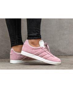 buy online 6970e 17c3d Adidas Gazelle Stitch And Turn W Wonder Pink Wonder Pink Ftwr White  Trainers Sale UK Adidas