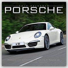 Porsche Calendar- Calendars 2016 - 2017 Wall Calendars - Car Calendar - Automobile Calendar - Porsche 16 Month Wall Calendar by Avonside