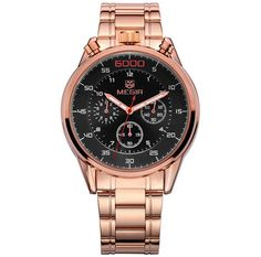 Cheap masculino, Buy Quality masculinos relogios directly from China masculino watch Suppliers: Saudi Arabia luxury Top Brand JEDIR Gold Watch Men Chronograph Mens Watches Military Sport Luminous Wristwatch Relogio Masculino Fossil Watches For Men, Men's Watches, Luxury Watches, Affordable Watches, Rose Gold Watches, Quartz Watches, Business Casual Men, Mens Watches Leather, Watch Bands