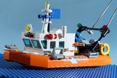Explore this photo album by Dave Stannard on Flickr! Lego Coast Guard, Lego Boat, Plane Window, Boat Design, Search And Rescue, Lego City, Boats, Ships, Album