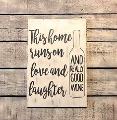 This Home Runs on Love and Laughter And Really Good Wine