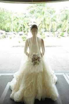 jazel sy bridal gown  my bride donna.  www.jazelsy.com