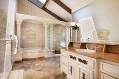 bathroom, I like the idea of shower and bath separate.