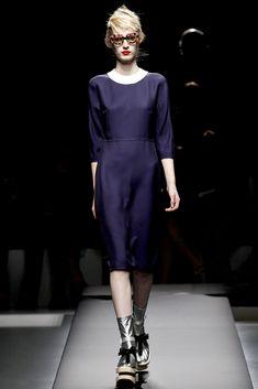 Prada Spring 2013 Ready-to-Wear Fashion Show - Julia Nobis