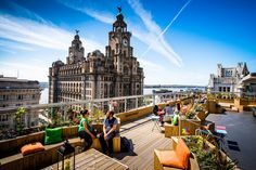 The Best Rooftop Bars Beer Gardens In Liverpool Utility First look at Shankly Hotels rooftop bar Liverpool Echo Liverpool Mexico Zahner . Liverpool Docks, Liverpool Home, Liverpool Street, Liverpool Waterfront, Hotel Rooftop Bar, Best Rooftop Bars, City Magazine, Rooftop Terrace, Beer Garden