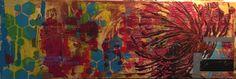 """""""le danseur"""", peinture acrylique, 150x50cm Arno, Painting, Dancer, Acrylic Paintings, Painting Art, Paintings, Painted Canvas, Drawings"""