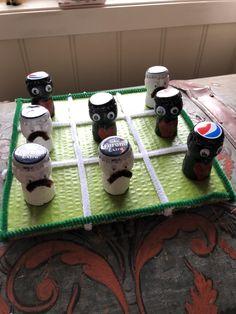 Pepsi vs Corona Tic Tac Toe, Pepsi, Desserts, Food, Corona, Tailgate Desserts, Deserts, Essen, Postres