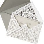 12 DIFFERENT IDEAS for DIY Decorative Envelopes & Liners: {Tutorials}:  add something a little extra special to them (with decorative paper, doilies, fabric, etc.). Great inspiration here for holiday cards, wedding invitations, special announcements, whatever you like. Nothing too complicated in this bunch and the expense is quite minimal, have fun!