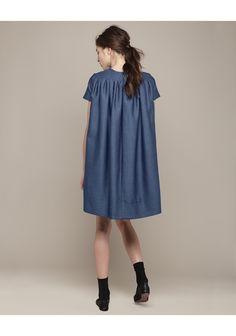 Charles Anastase / Mina Denim Dress :: perfect summer dress