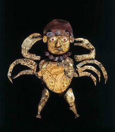 """Ai Apaec """"The Decapitator"""", Moche culture, Peru"""