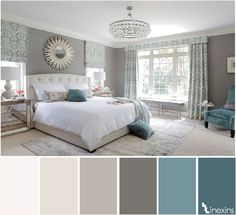 Bedroom paint color schemes gray bedroom bathroom paint colors best tranquil bedroom ideas on house inside bedroom paint color schemes interior paint color Farmhouse Master Bedroom, Master Bedroom Design, Dream Bedroom, Home Bedroom, Bedroom Decor, Bedroom Ideas, Master Suite, Bedroom Furniture, Dark Furniture