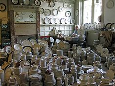 shop of old porcelain, Amsterdam