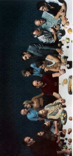 The Sopranos Last Supper (1999) by Annie Liebowitz