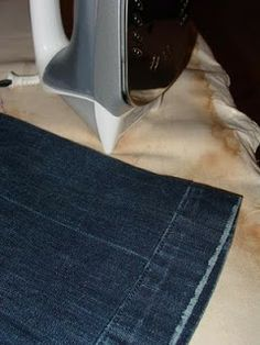 Holy Craft: Hemming your jeans