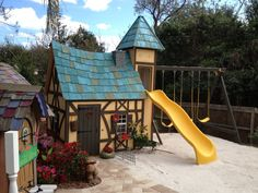 Explore our custom design process of indoor and outdoor playhouses for boys and girls! Design a two-story playhouse, castle, cottage and much more! Playhouse With Slide, Kids Playhouse Plans, Kids Indoor Playhouse, Outside Playhouse, Childrens Playhouse, Playhouse Kits, Backyard Playhouse, Build A Playhouse, Wooden Playhouse