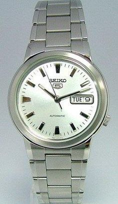Seiko Mens SNXE89 Seiko 5 Automatic Steel Watch - http://yourperfectwatch.com/seiko-mens-snxe89-seiko-5-automatic-steel-watch/
