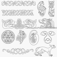 free celtic designs patterns