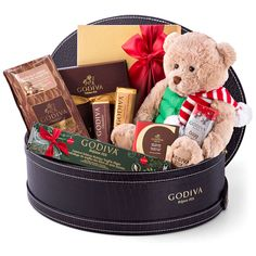 Discover the wonderful world of the famous Belgian chocolatier Godiva at Christmas 2016. With so much to share, this impressive Godiva gift basket is the chocolate gift that every family wants to receive this Christmas!