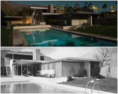 The house that Richard Neutra 'won' over Frank Lloyd Wright. Click on the image to see more.
