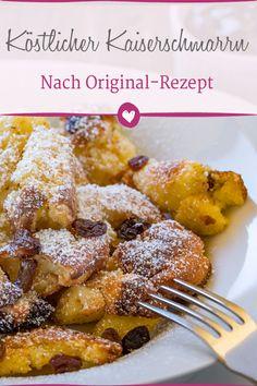 Das Original-Rezept zu köstlichem Kaiserschmarrn. #kaiserschmarrn #rezepte